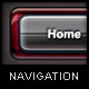 Trio Metal Navigation - GraphicRiver Item for Sale