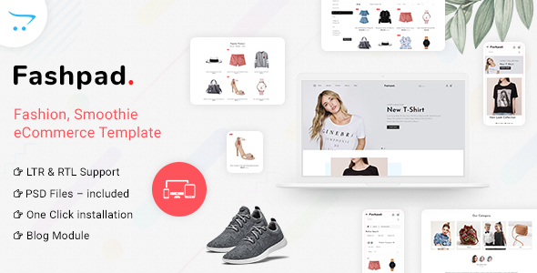 Fashpad – Opencart 3 Fashion Responsive Theme