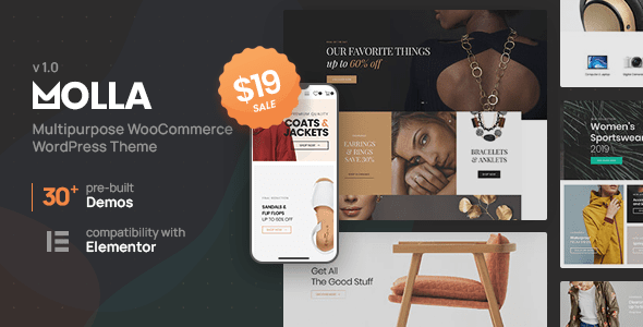 Molla | Multi-Purpose WooCommerce Theme