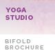 Yoga Studio Bifold Brochure