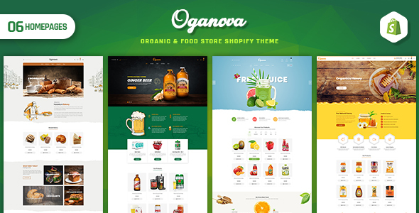 Oganova – Organic & Food Store Shopify Theme
