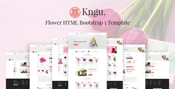Kngu – Flower HTML Bootstrap 5 Template