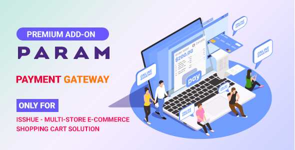 Param Payment Gateway for Isshue eCommerce Shopping Cart Solution