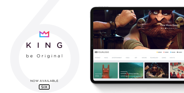 King - WordPress Viral Magazine Theme