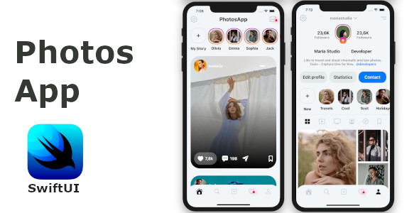 Photo App SwiftUI Template