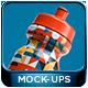 Sport Water Bottle Mockup Pack 001