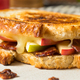Homemade Bacon Apple Grilled Cheese Panini - PhotoDune Item for Sale