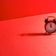 Retro alarm clock with time at twelve o'clock or midnight - PhotoDune Item for Sale