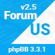 ForumUS   Responsive phpBB 3.3.0 Style / Theme
