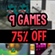 Unity Bundle  9 Games- Great discount of 75% for a mega bundle of 9 premium Unity games