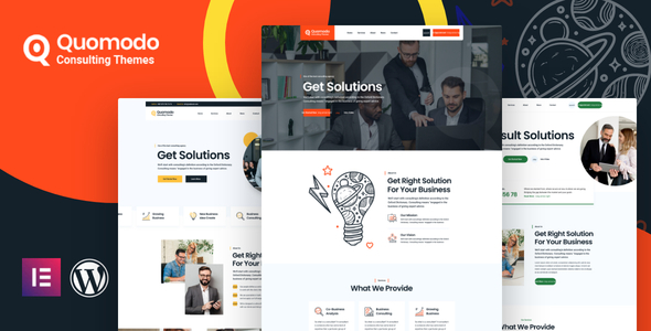 Quomodo – Business Consulting WordPress Theme