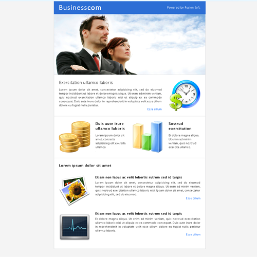 Business Fusion - ThemeForest Item for Sale