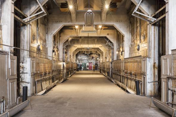 Industrial corridor - Stock Photo - Images