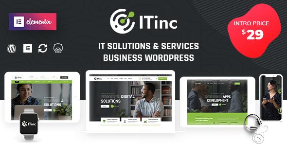 ITInc – Technology Services WordPress Theme
