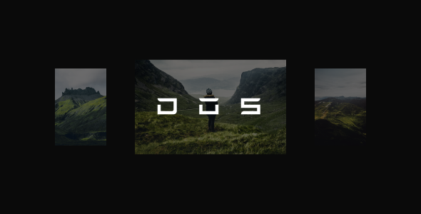 Dos – Creative Photography WordPress Theme