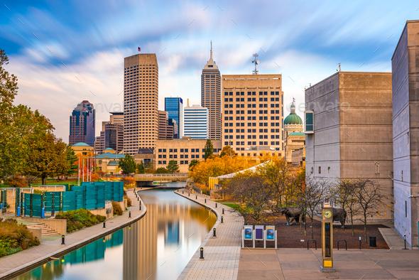 Indianapolis, Indiana, USA - Stock Photo - Images