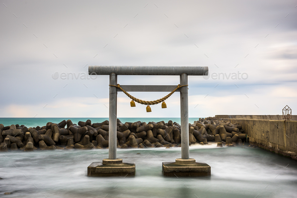 Wajima, Japan at the Shirayama Torii Gate - Stock Photo - Images