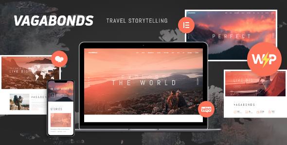 Incredible Vagabonds | Personal Travel & Lifestyle Blog WordPress Theme