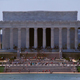 Medium Shot Of the Lincoln Memorial Full HD - VideoHive Item for Sale