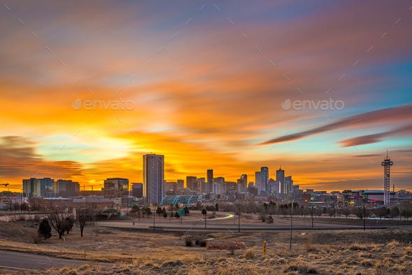 Denver, Colorado, USA - Stock Photo - Images