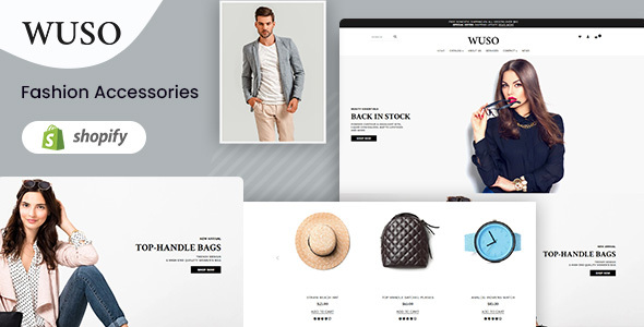Wuso – Fashion Responsive Shopify Theme
