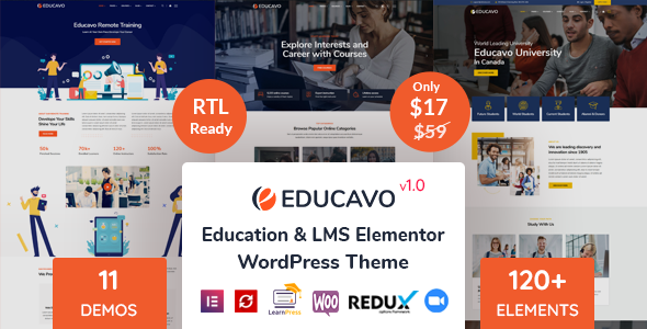 Educavo – Education WordPress Theme