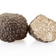 Black truffle and section isolated on white, clipping path included - PhotoDune Item for Sale