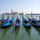 Gondolas at the Piazzetta San Marco in Venice - PhotoDune Item for Sale