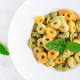 Italian ravioli pasta with spinach and ricotta in white plate - PhotoDune Item for Sale