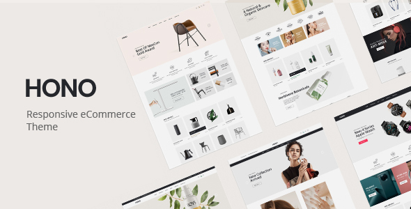 Hono - Multipurpose WooCommerce WordPress Theme