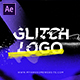 Glitch Logo Intro Grunge Distortion - VideoHive Item for Sale