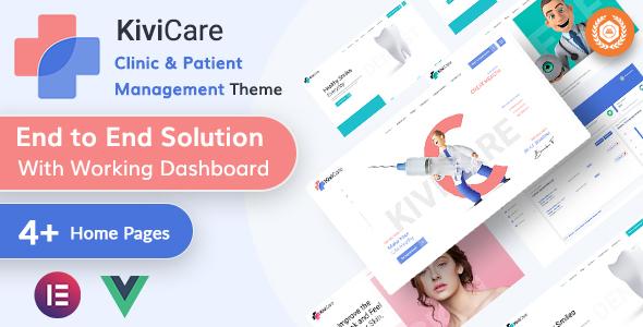 Download KiviCare – Medical & Clinic Management WordPressTheme Free Nulled
