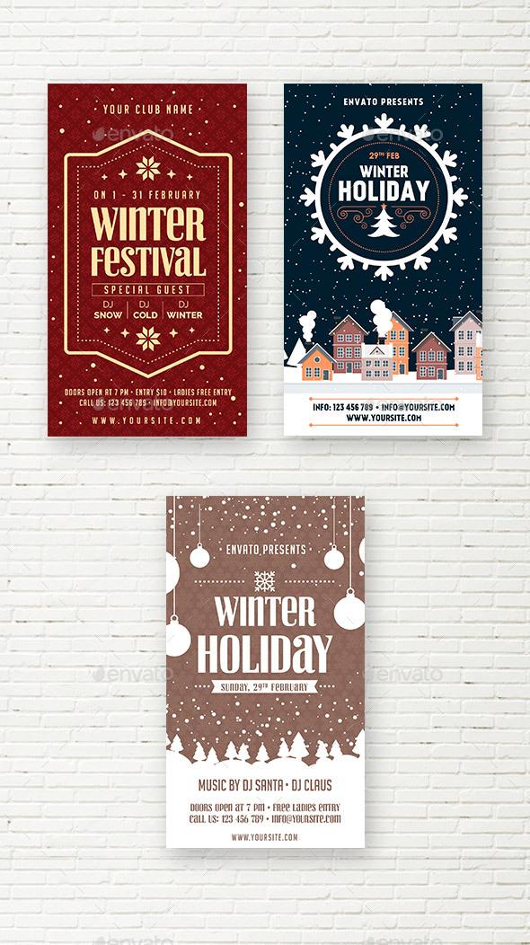 Winter Social Media Stories