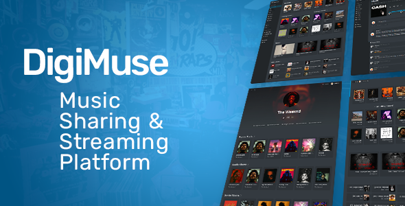 DigiMuse - Music Streaming Platform