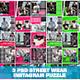 3 PSD Streetwear Instagram Feed Puzzle