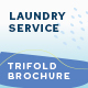 Laundry Service Trifold Brochure