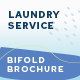 Laundry Service Bifold Brochure