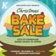 Christmas Bake Sale Flyer Templates