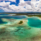 Drone view of small islands and lagoons, Efate Island, Vanuatu, near Port Vila - PhotoDune Item for Sale