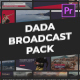 DADA - Broadcast Package | Essential Graphics | Mogrt - VideoHive Item for Sale