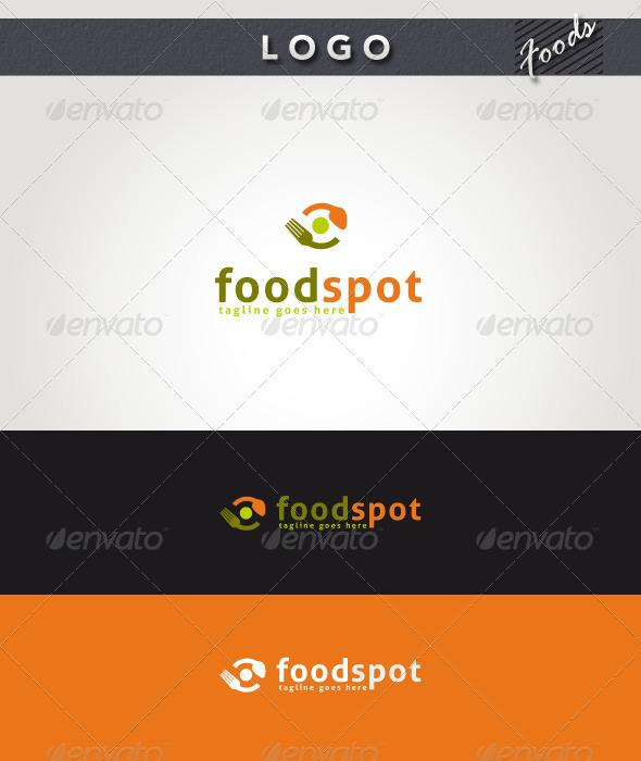 Food Spot Logo - Food Logo Templates