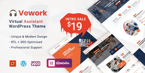 Vework - Virtual Assistant WordPress Theme