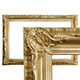 Antique golden picture frame - GraphicRiver Item for Sale