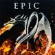 Epic Dark Fantasy Battle