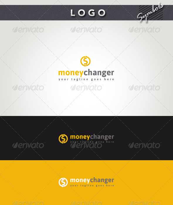 Money Changer Logo - Symbols Logo Templates