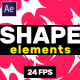 Shape Elements // After Effects - VideoHive Item for Sale