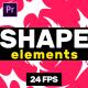 Shape Elements // MOGRT - VideoHive Item for Sale