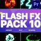 Flash FX Elements Pack 10 | Premiere Pro MOGRT - VideoHive Item for Sale