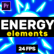 Energy Elements // Afterf Effects - VideoHive Item for Sale