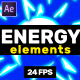 Energy Elements // MOGRT - VideoHive Item for Sale